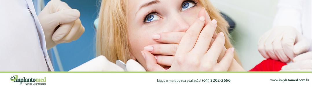 É fim do do medo de dentista! Aqui na Implantomed temos a solução ideal para fobia odontológica! ACESSE!